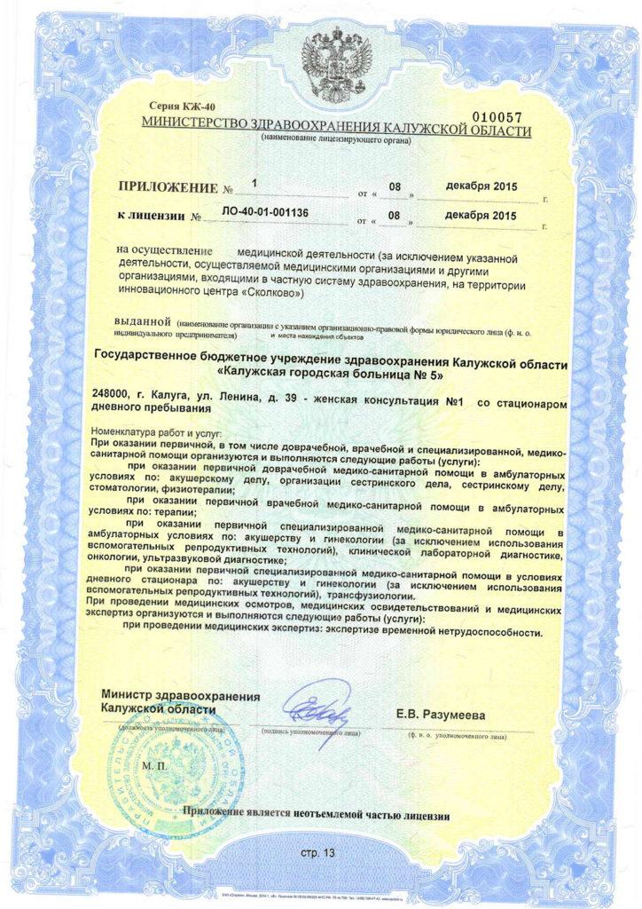 Лицензия-13