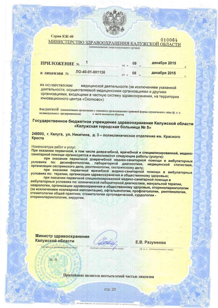 Лицензия-20