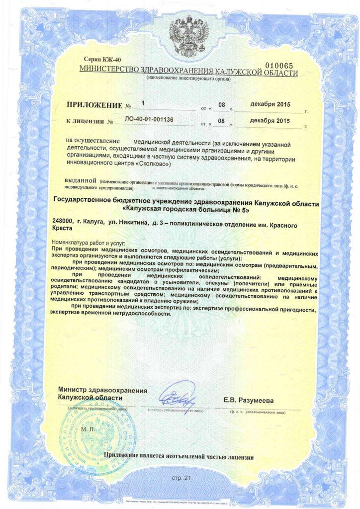 Лицензия-21